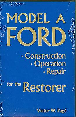 1928 29 30 31 Ford Model A-Restoration & Shop Manual-Softcover
