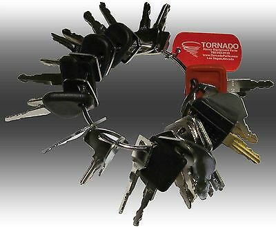 27 Keys Heavy Equipment / Construction Ignition Key Set