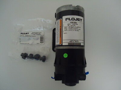 Jabsco ITT Flojet Self-priming diaphragm pump w/ AC electric motor 2100-754B