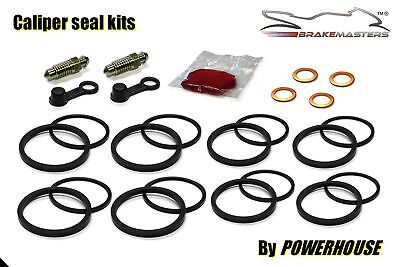 Yamaha YZF-R1 front brake caliper seal rebuild repair kit 2002 2003 5PW