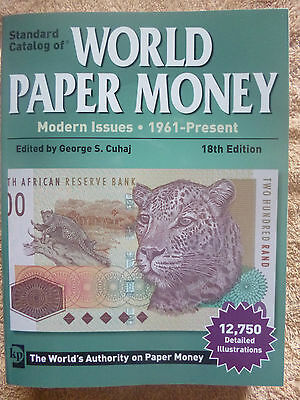 KRAUSE 2012 WORLD BANKNOTE CATALOGUE Modern Issues 1961 - present 18th Edition