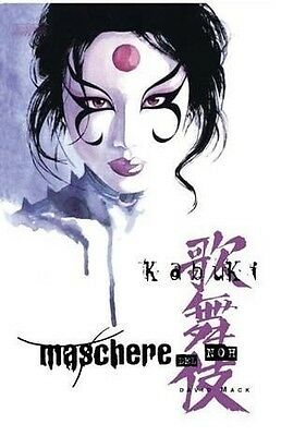 Kabuki maschere del Noh di D.Mack ed.Magic Press NUOVO sconto 50%