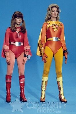 Electra Woman and Dyna Girl PHOTO 13 Deidre Hall Judy Strangis