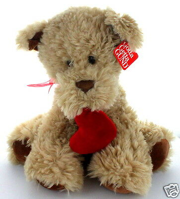 """Kisses Dog 12"""" Plush  Toy by Gund for Valentine's Day #4031501 Age:3+ years  New"""