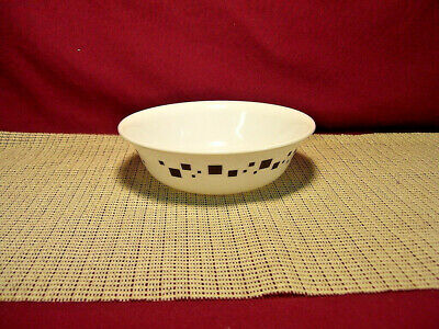 Corning Corelle Geometric Pattern  Cereal Bowl New