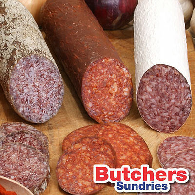 5 Pack Fibrous Casing for Salami,Smoked Sausage,Chorizo Pepperoni, Dried Cured