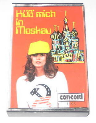 MC/KÜß MICH IN MOSKAU/HOLGER PETERSEN/1195 Concord/Sexy Cover