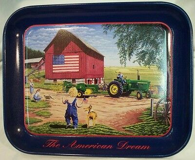 "John Deere ""The American Dream"" Tray"