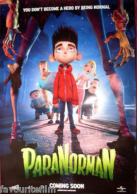 Cinema Poster: PARANORMAN 2011 (Advance One Sheet) Anna Kendrick Casey Affleck