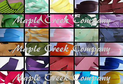 Grosgrain Ribbon 3/8 inch x 5 yards (15 feet of ribbon) 34 COLORS AVAILABLE
