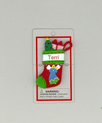 Itsy Bitsy Stocking Ornament ~ GRANDPA ~ CHRISTMAS TREE ~ Stocking Stuffer ~
