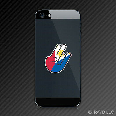(2x) Filipino Shocker Cell Phone Sticker Decal Mobile Self Adhesive Philippines