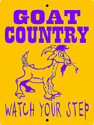 GOAT SIGN, Aluminum Sign,Animals,Farm sign,Pigs,chickens,horses,llama,GOATC2