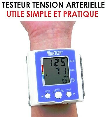 Indispensable En Mer: Testeur De Tension Arterielle + Rythme Cardiaque! Simple