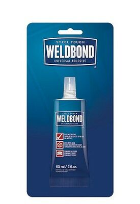 Weldbond 98PJ 2-Ounce Bottle Universal Adhesive Non-Toxic Dries Clear & Flexibl