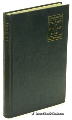 The Lady of the Lake, Sir Walter Scott; VG+ compact 1899 Allyn & Bacon ed. 75635