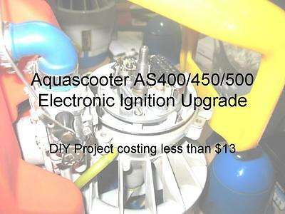 Aquascooter Ignition Module Upgrade Instructions For Model As400 & As450 & As500