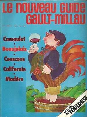 Gault Millau N° 21 / 1971 - 01 = Toulouse + Madere + Californie + Beaujolais