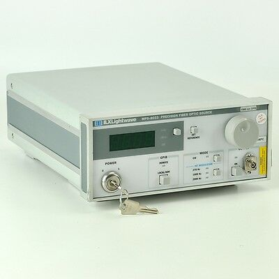 ILX MPS-8033 Precision Fiber Optic Source