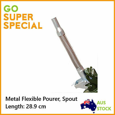 Pourer Spout Metal Flexible Fuel Jerry Can Pourer Petrol Unleaded Nozzle Spout