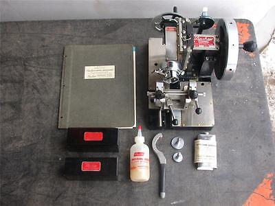 LIPSHAW MICROTOME MODEL 50-AB & KNIFE EXTRAS BOX MICROSCOPIC SLICER w/ MANUAL