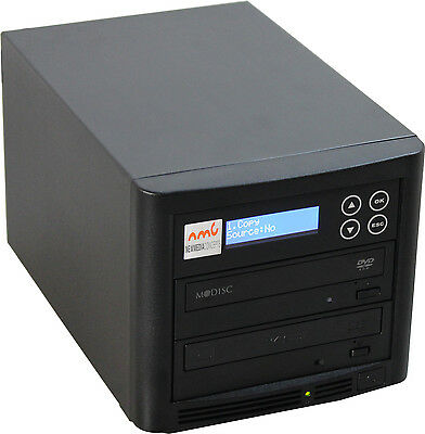CD und DVD Kopierstation Kopiersysteme 1:1 Brenntower mit LCD Display !NEU!