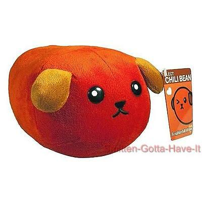"MAMESHIBA New 6"" Medium CHILI Bean Spicy Little Bean Dog PLUSH Doll Toy GIFT"