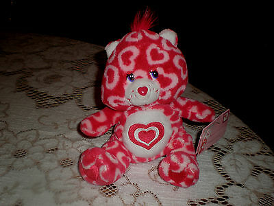NWT HTF Target Exclusive Valentines OOP Care Bear ALL MY HEART  2006