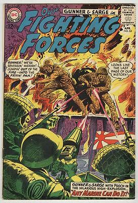 Our Fighting Forces #83 April 1964 VG/FN Gunner and Sarge