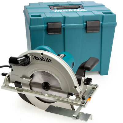 """Makita 5903RK 9""""/235mm Circular Saw 1550W with Hex Wrench & Case 240V"""