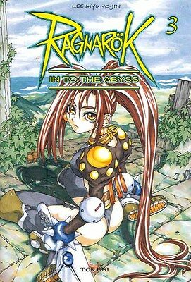 RAGNAROK Into the Abyss  tomes 1-2-3 Lee Myung-Jin MANGA série