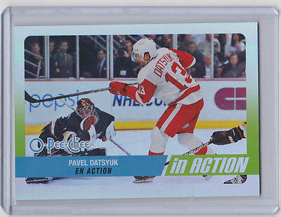 2010-11 O-Pee-Chee Pavel Datsyuk Opc In Action Red Wings