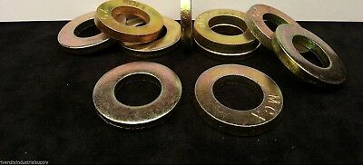 100 7//16 Grade 8 SAE EXTRA THICK Flat Washers for sprint midget micro mini