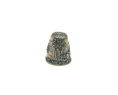 St. Nicholas Patron Saint of Children & Sailors Thimble