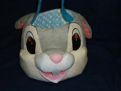 "DISNEY ""THUMPER"" BUNNY RABBIT Easter Basket"