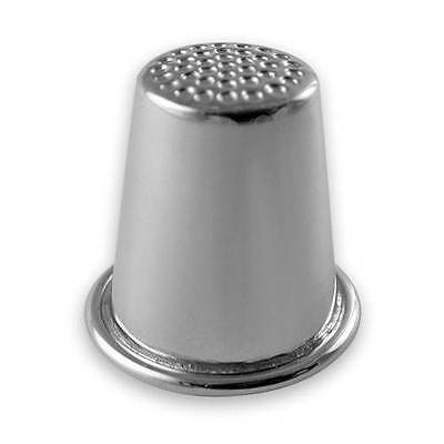 Thimble in Sterling Silver 2cm diameter Handmade Gift Boxed UK Made NEW
