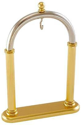 Woodford Classical Arch Brass and Chrome Pocket Watch Stand - 1510