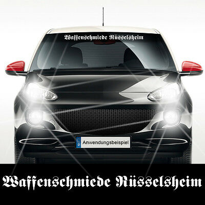 sticker auto aufkleber waffenschmiede ingolstadt 1a tuning. Black Bedroom Furniture Sets. Home Design Ideas