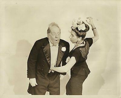 "RENIE RIANO & JOE YULE in ""Bringing Up Father"" Original Vintage Photo 1946"