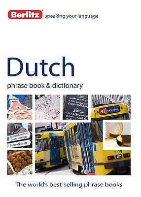 Berlitz Language: Dutch Phrase Book & Dictionary by Berlitz Publishing...