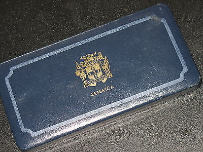 1976 Jamaica PROOF Coin set in case by the FRANKLIN MINT Sterling / 500 silver
