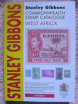 STANLEY GIBBONS 2012 WEST AFRICA STAMP CATALOGUE 2nd EDITION