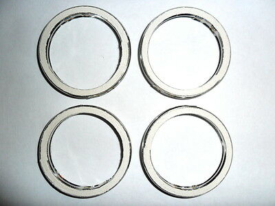 EXHAUST GASKETS for KAWASAKI Z650 set of 4