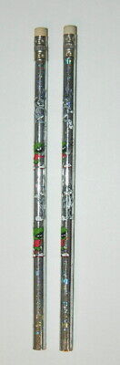 Looney Tunes Marvin the Martian /& Bugs Bunny Holographic Pencils 1993 NEW UNUSED