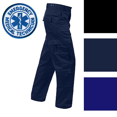 Tactical Uniform Cargo Pants 9 Pocket EMT EMS Paramedic Medic Work Duty Trousers