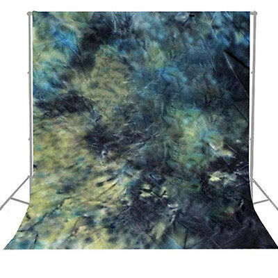 Photo Background Backdrop Photography Tie Dyed Hand Painted Muslin 6 x 9ft