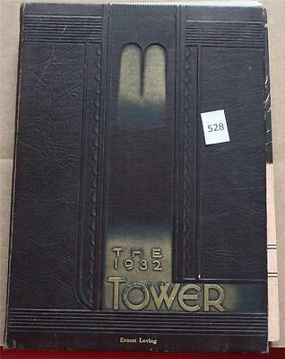 1932 Wheaton College Yearbook The Tower Illinois