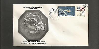 25TH ANNIVERSARY MERCURY 8 MAY 15,1988  CAPE CANAVERAL