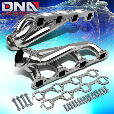 Black Coated Exhaust Headers For Ford 79-93 Mustang 260 289 302 351 5.0L