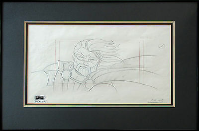 STAR WARS framed original production drawing Clone Wars - GENERAL KENOBI